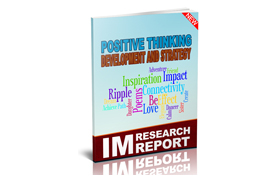 Positive Thinking Development and Strategy