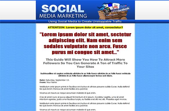 Social Media Marketing HTML PSD Template