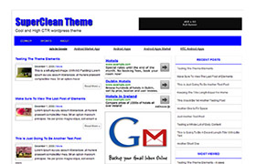 Super Clean WP Theme