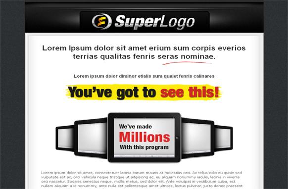 Super Logo Minisite HTML Template Edition 2