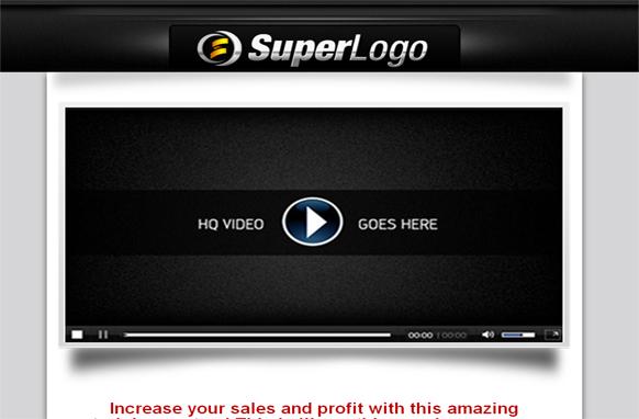 Super Logo Minisite HTML Template Edition 6