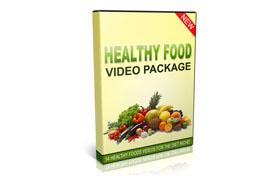 Healthy Food Videos Package