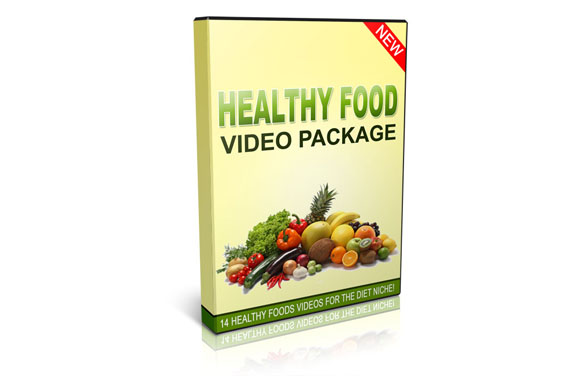 Healthy Food Videos Package