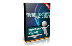 Techie Training Videos Version X