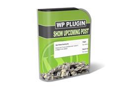 Show Upcoming Posts Plugin