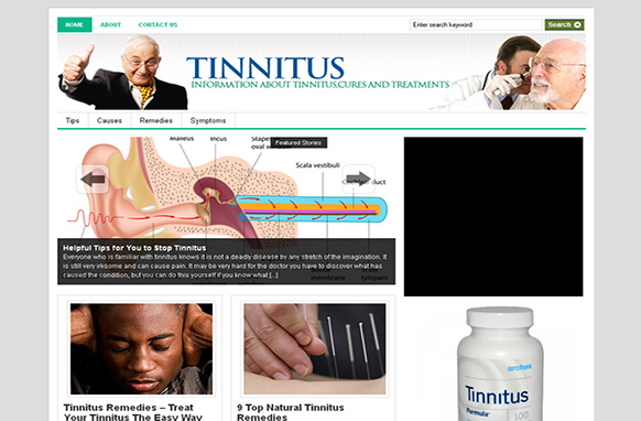 Tinnitus Niche Wordpress Theme