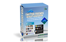 Twitter Friends Widget Generator
