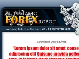 Forex WP PSD Theme
