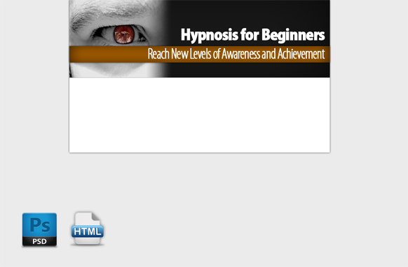 Hypnosis HTML PSD Template