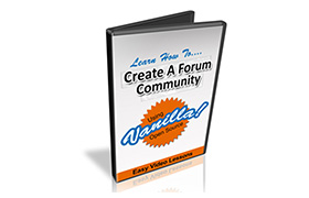 Set Up A Forum Community Using Vanilla