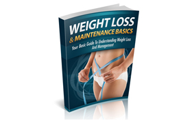 Weight Loss and Maintainence Basics