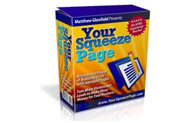 Your Squeeze Page
