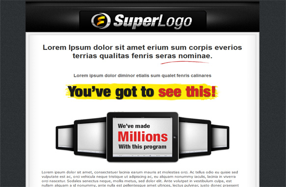 Super HTML Sales Page Volume 2