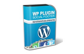 WP Plugin Social Footer