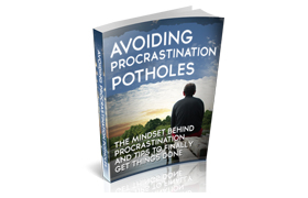 Avoiding Procrastination Potholes