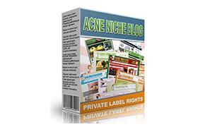 Acne Niche Blog