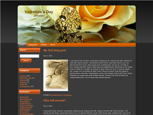 All About Yellow Roses WP Theme
