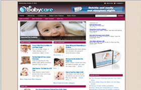 Baby Care WP Theme