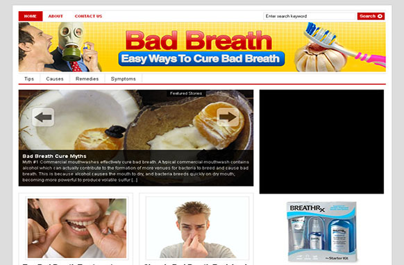 Bad Breath WP Niche Theme
