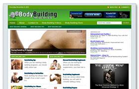 Body Building WP Niche Theme