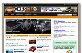 Cars And Automobile WP Niche Theme