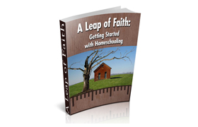 A Leap Of Faith – Getting Started With Homeschooling
