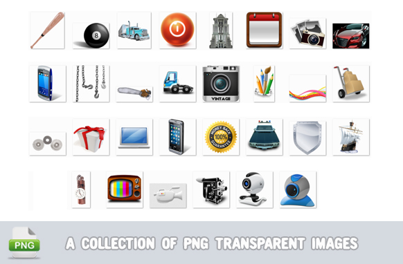 A Collection Of PNG Transparent Images