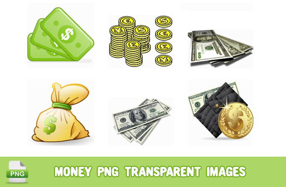 Money PNG Transparent Images