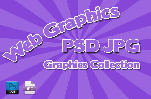 Web Graphics PSD JPG Graphics Collection