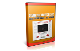 Create Video Squeeze Pages