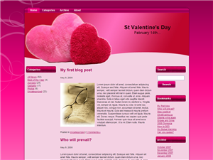 All About Hearts WP Theme