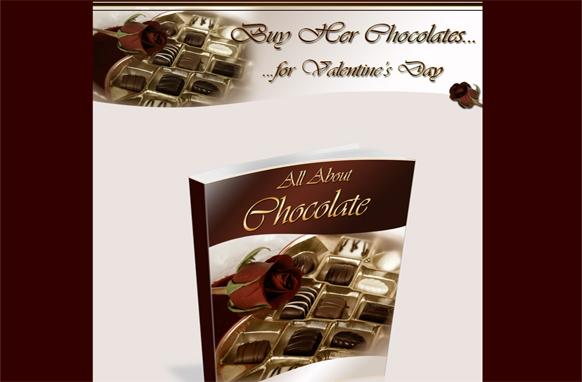 All About Chocolate Minisite HTML PSD Template