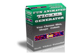 Fun Animated Ticket Generator