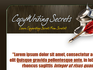 Copy Writing WP PSD Theme