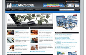 CPA Ready Made WP Theme