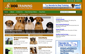 Dog Training WP Niche Theme