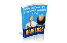 Hair Loss WP Ebook Template