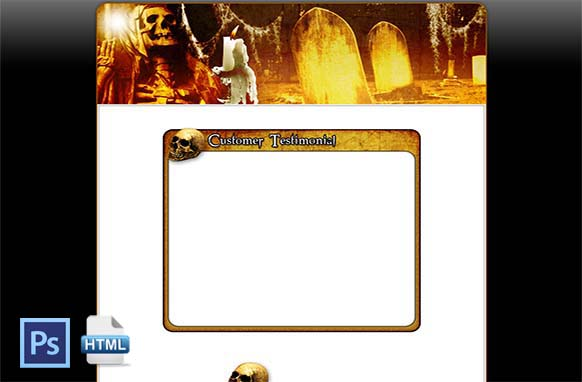 Halloween HTML Template Edition 2