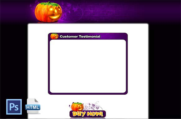 Halloween HTML Template Edition 3