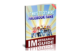 17 Ways To Get More Facebook Fans