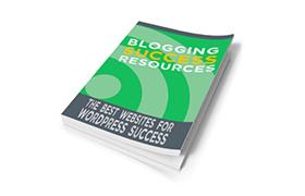 Blogging Success Resources