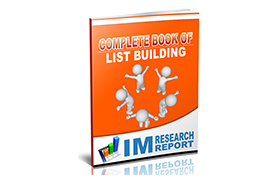 Complete Book Of List Building