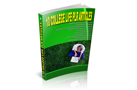 10 College Life PLR Articles