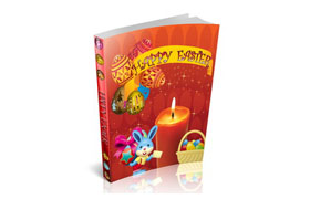 Happy Easter Bunny HTML Ebook Template