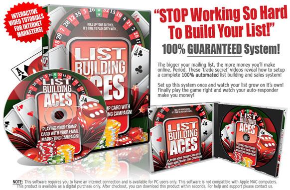 List Building Aces