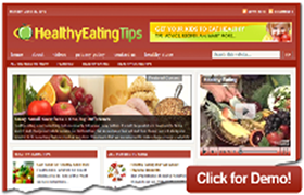 Healthy Eating Tips WP Theme