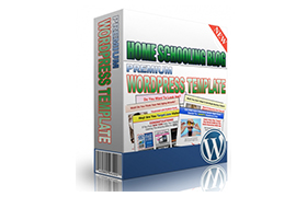 Home Schooling Blog Premium WordPress Template