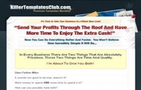 Killer Templates Club HTML PSD Templates