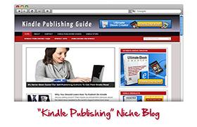 Kindle Publishing Niche WP Theme