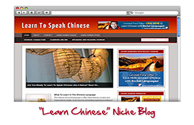 Learn Chinese Niche WP Theme